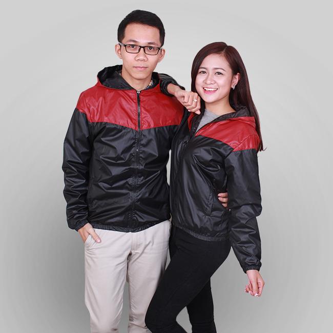 thiết kế áo gió đồng phục